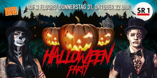 Die SR1 & UnserDing Halloween Party - EventArena SB