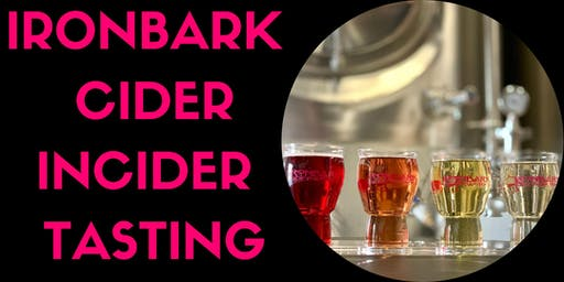 Ironbark Cider Incider Tasting Event