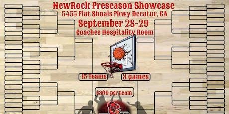 NewRock Pre-season Basketball Showcase tickets