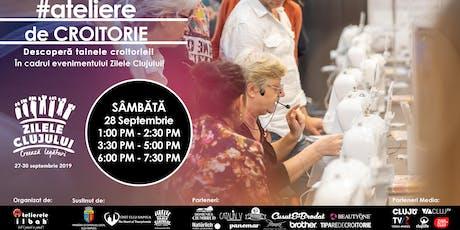Ateliere GRATUITE de CROITORIE by Atelierele ILBAH - Zilele Clujului - CLUJ NAPOCA tickets