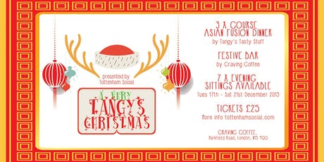 A VERY TANGY'S CHRISTMAS @ Craving Coffee  tickets