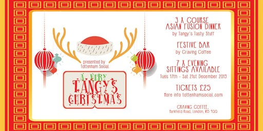 A VERY TANGY'S CHRISTMAS @ Craving Coffee