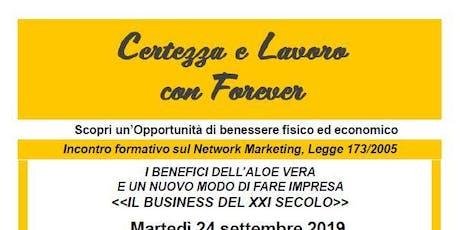 Il Business del XXI secolo -  incontro formativo sul network marketing biglietti