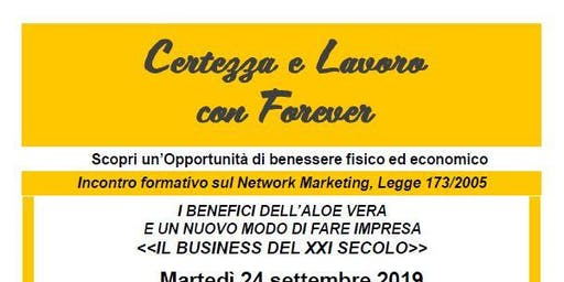 Il Business del XXI secolo -  incontro formativo sul network marketing
