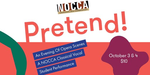 An Evening of Opera Scenes A NOCCA Classical Vocal Student Performance