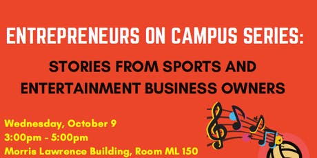Entrepreneurs on Campus Panel Discussion tickets