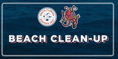 South Florida Seafood Festival Beach Clean-Up tickets