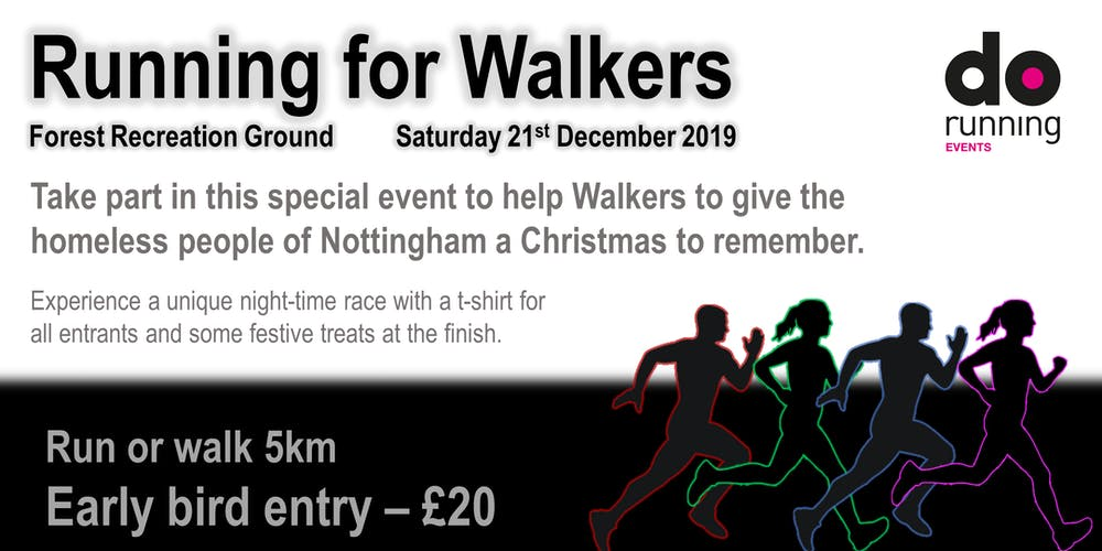 A Christmas To Remember 2019.Running For Walkers 2019