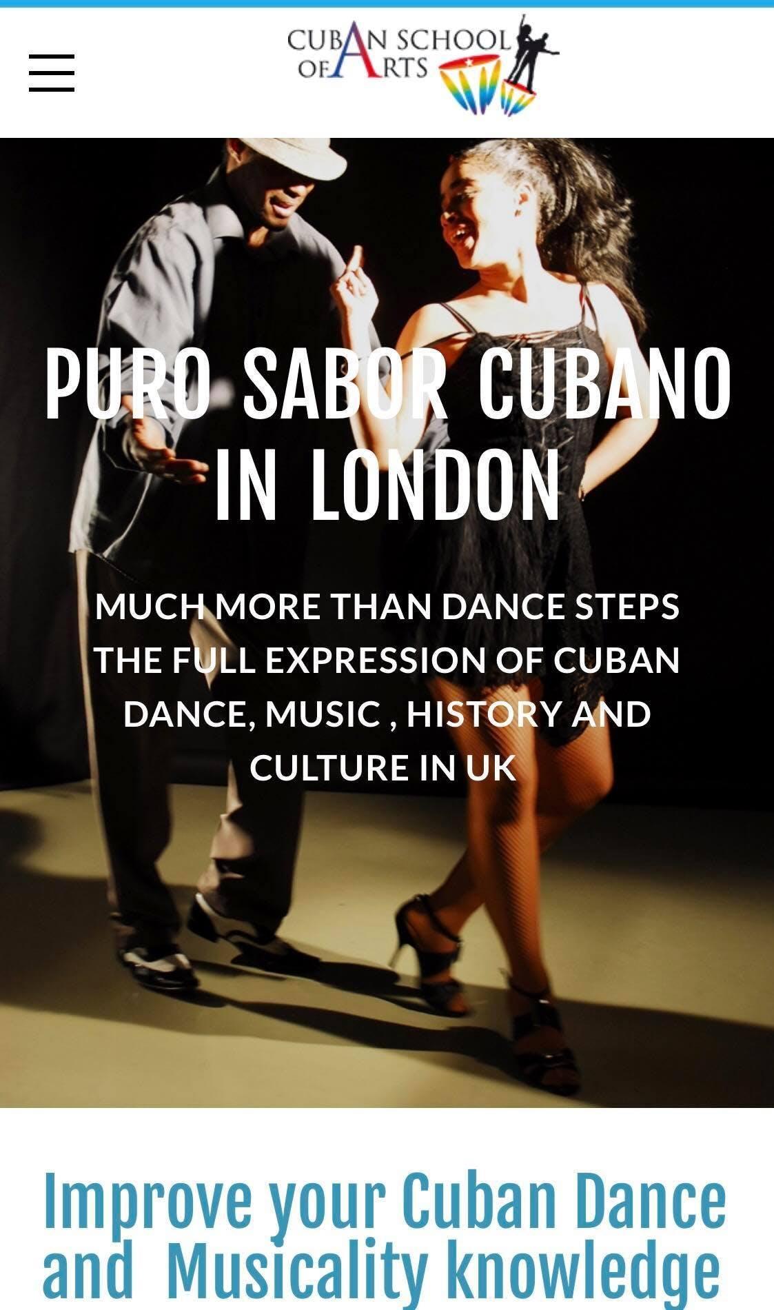 Puro Sabor Cubano , Dance & Music Workshop in London with DCubanSchool