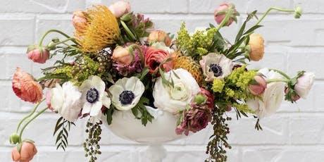 Thanksgiving flower workshop tickets