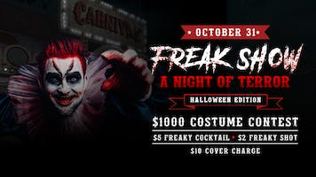 Ink N Ivy Freakshow, A Night of Pure Terror: Halloween Edition