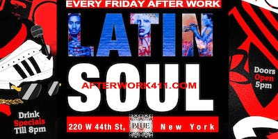 THE AFTER WORK FRIDAY PARTY at BLUE MIDTOWN NYC LO