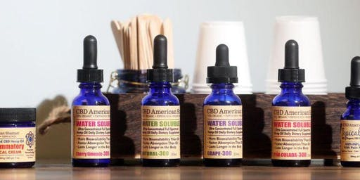 CBD 101!  Learn the basics and get a FREE sample bottle to take home!