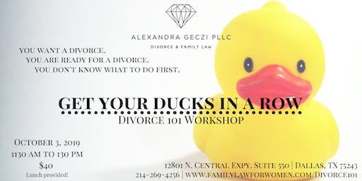 Divorce Planning for Women