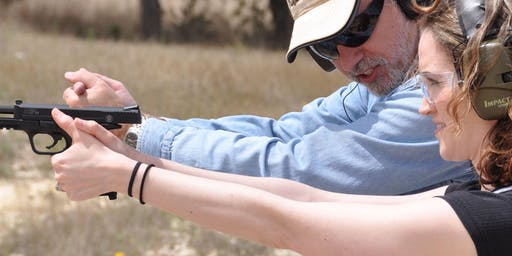October 20th Women's-only training - Handgun safety and Marksmanship - TDR
