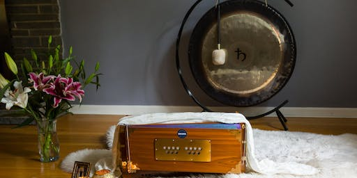 Community Kundalini Yoga Class with Live Music and Gong Meditation