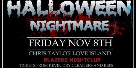 Halloween night mare blazers tickets