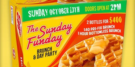 The Sunday Funday Brunch & Day Party tickets