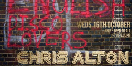 Art House Open Lecture Series - Chris Alton tickets
