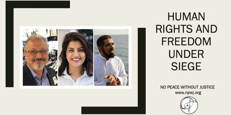 Human Rights and Freedom Under Siege tickets