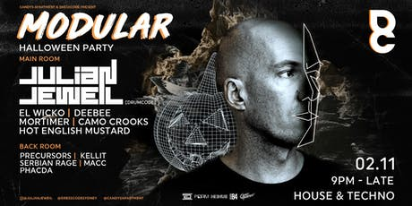 Halloween Ft. Julian Jeweil (Drumcode) tickets