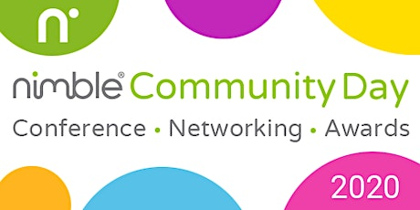 Nimble Community Day 2020 – Conference, Networking and Awards tickets