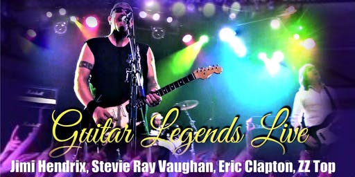 Guitar Legends Live! Jimi, Stevie Ray, Clapton, Setzer & Much More