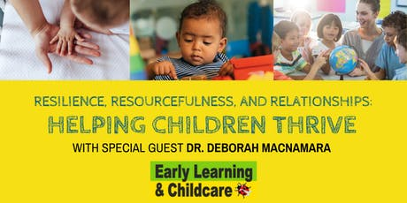 2019 Early Learning & Childcare Conference: Helping Children Thrive tickets