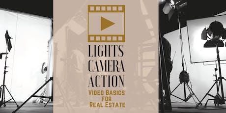 Lights, Camera, Action! Video Basics for Real Estate - Pflugerville tickets