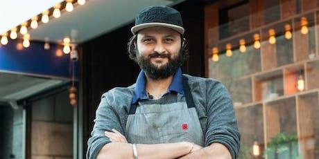 Chef Chintan Pandya & Adda Indian Canteen Dinner  tickets