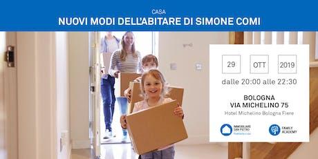 29/10/2019 La ricerca della casa e i nuovi modi dell'abitare - incontro gratuito - a cura di idealista - relatore Simone Comi biglietti