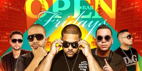 Open Bar Fridays at SLLounge *Open Bar & FREE Admission  until 12am tickets