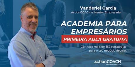Academia Para Empresários ingressos