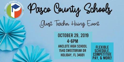 Guest Teacher Hiring Event-West