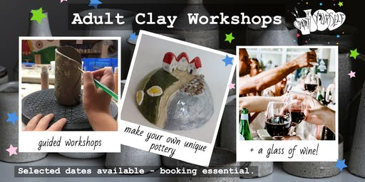 Adult Clay Workshop: Xmas Gifts