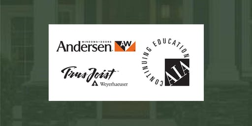 Woodhaven 2019 CE Series: Andersen Windows & Weyerhaeuser Seminar on Oct 8