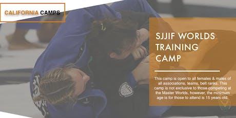 SJJIF Worlds Jiu Jitsu Training Camp 2019 tickets