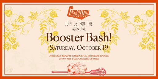 Boosters Bash 2019!