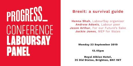 LabourSay – Brexit: a survival guide tickets