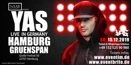 YAS Live in Hamburg - 15.12.19 - Gruenspan Tickets