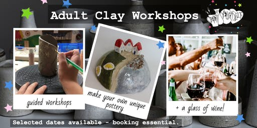 Adult Clay Workshop: Planters