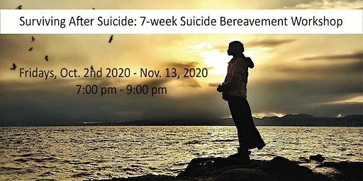 Surviving After Suicide - 7-week Suicide Bereavement Grief Workshop
