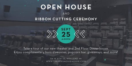 Open House and Ribbon Cutting Ceremony tickets