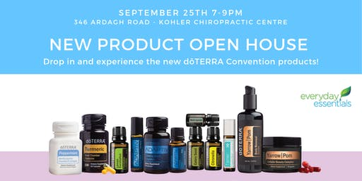 doTERRA Open House - Drop in and Experience the new products!