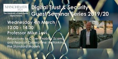 Professor Mike Levi Guest Seminar