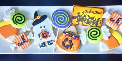 Halloween Intermediate Cookie Decorating Class - Spring Hill