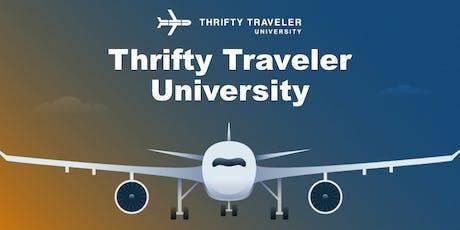 Thrifty Traveler University tickets