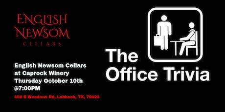 The Office Trivia at English Newsom Cellars tickets