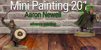 Mini Painting 201 with Aaron!