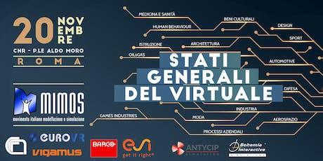 Stati Generali del Virtuale biglietti